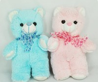 Pink & Blue Heart Beat Teddy Bears